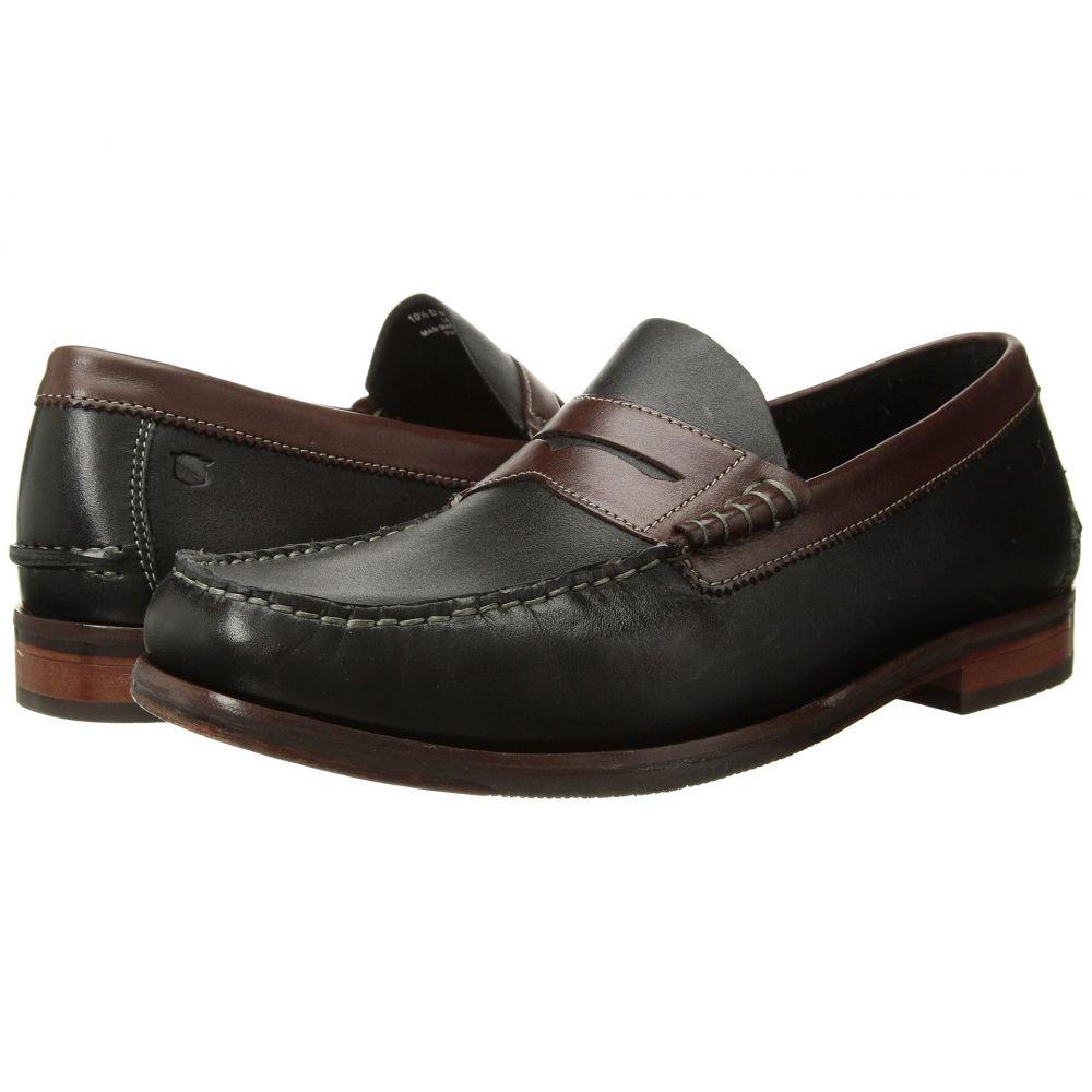 フローシャイム Florsheim メンズ ローファー シューズ・靴【Heads Up Penny Loafer】Black/Brown Smooth