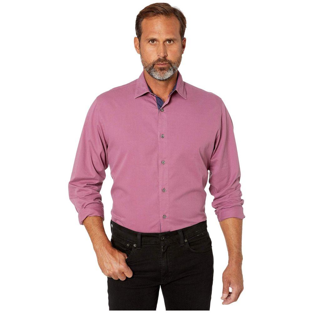 ブガッチ BUGATCHI メンズ シャツ トップス【Savignano Classic Fit Shirt】Berry