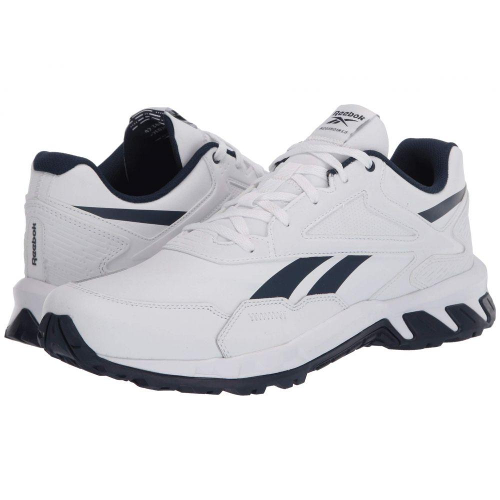 リーボック Reebok メンズ スニーカー シューズ・靴【Ridgerider 5.0】White/Collegiate Navy/White Leather