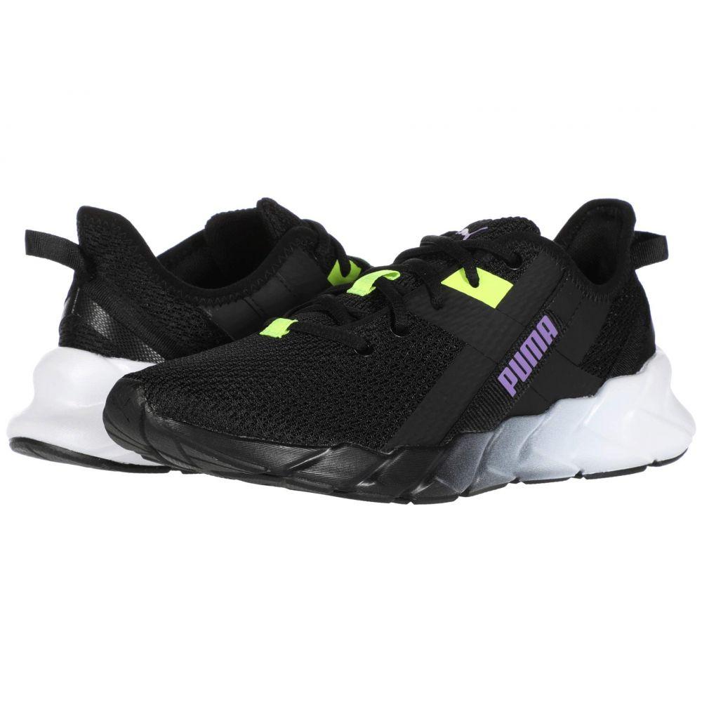 プーマ PUMA レディース スニーカー シューズ・靴【Weave XT Gradient】Puma Black/Luminous Purple/Yellow Alert