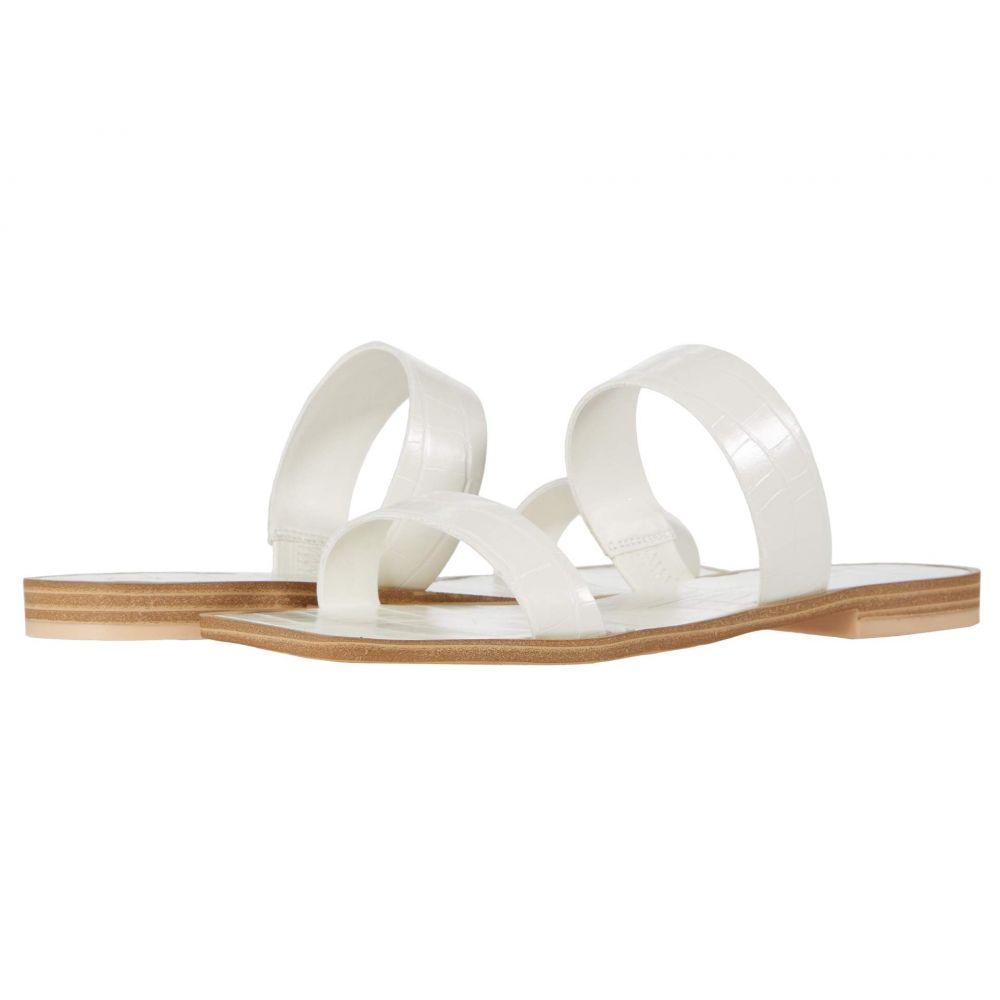 ドルチェヴィータ Dolce Vita レディース サンダル・ミュール シューズ・靴【Lyla】White Croco Embossed Stella