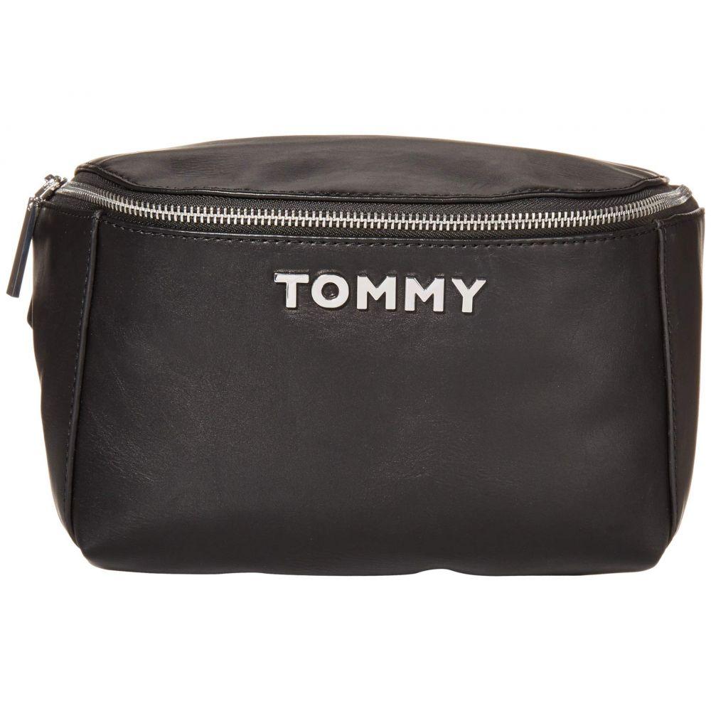 トミー ヒルフィガー Tommy Hilfiger レディース ボディバッグ・ウエストポーチ バッグ【Florence 1.5 - Belt Bag - Smooth PVC】Black