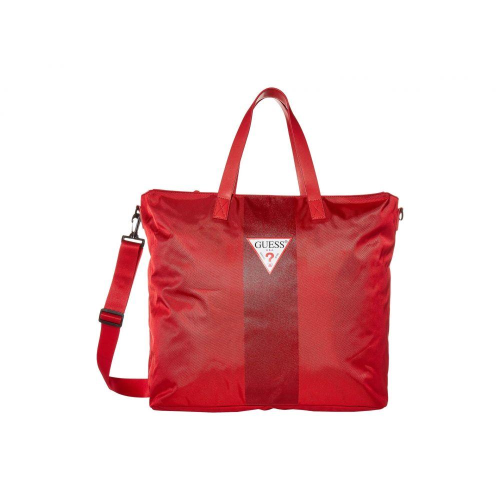 ゲス GUESS ユニセックス トートバッグ バッグ【Central Tote】Red