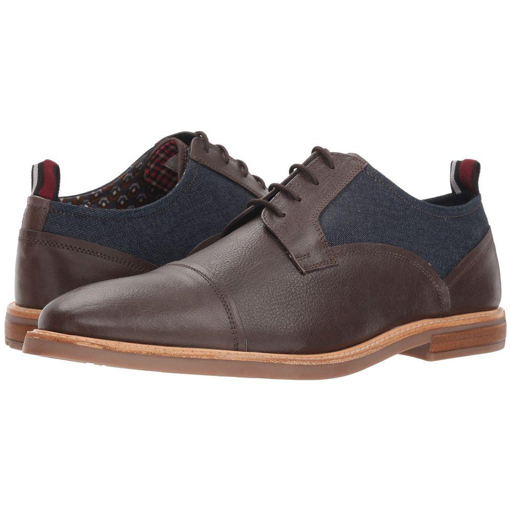 ベンシャーマン Ben Sherman メンズ 革靴・ビジネスシューズ シューズ・靴【Birk Cap Toe】Brown Denim