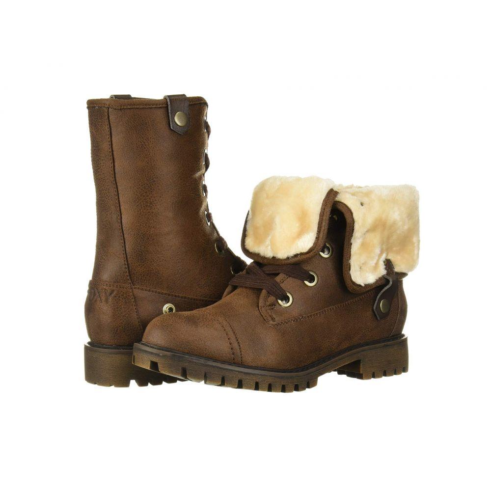 ロキシー Roxy レディース ブーツ シューズ・靴【Bruna】Dark Brown