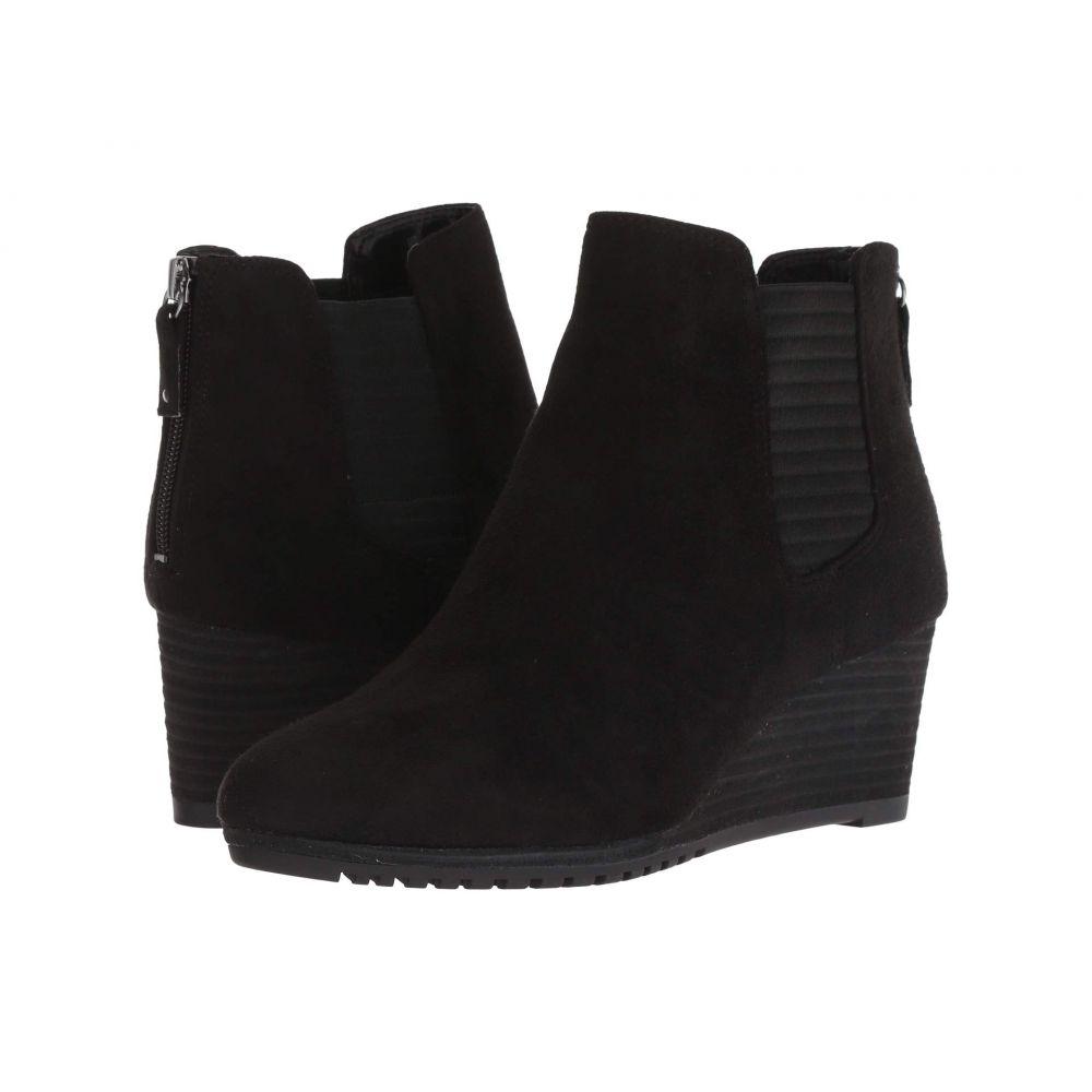 ドクター ショール Dr. Scholl's レディース ブーツ シューズ・靴【Critic】Black Microfiber