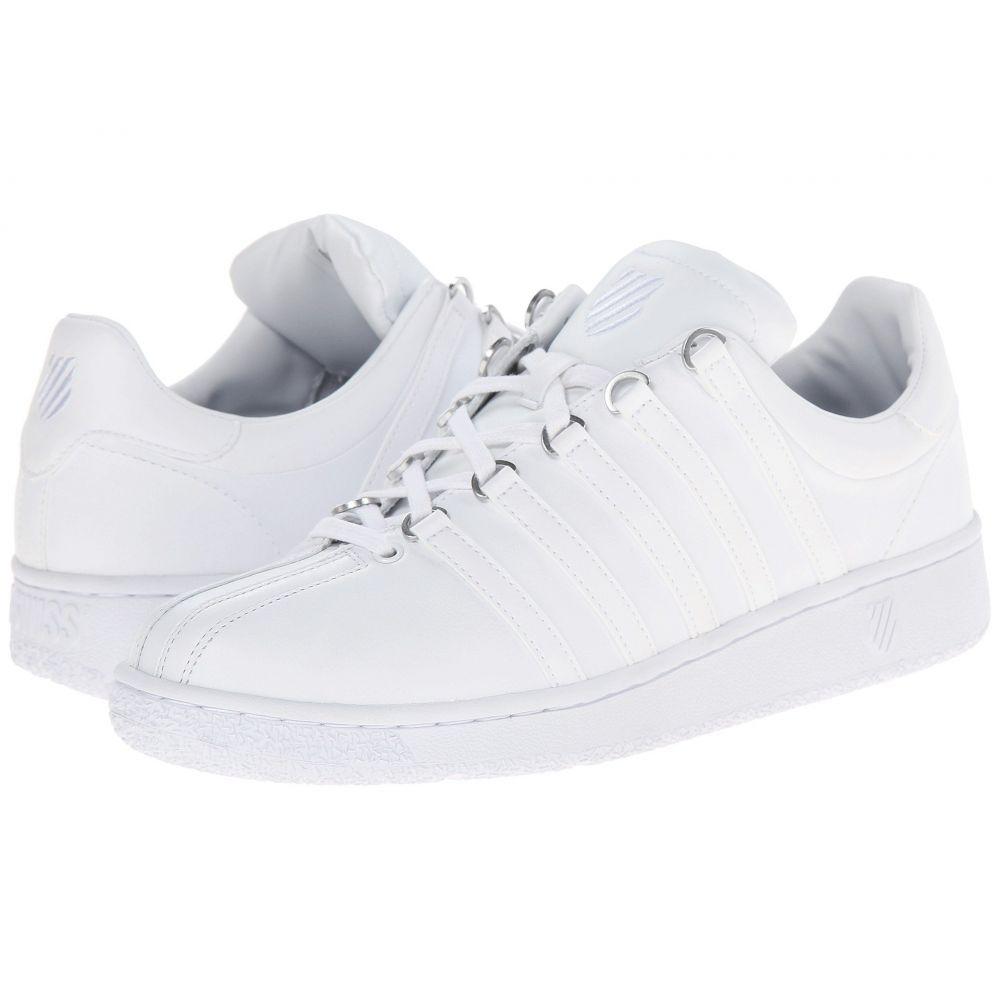 ケースイス K-Swiss メンズ スニーカー シューズ・靴【Classic VN】White/White