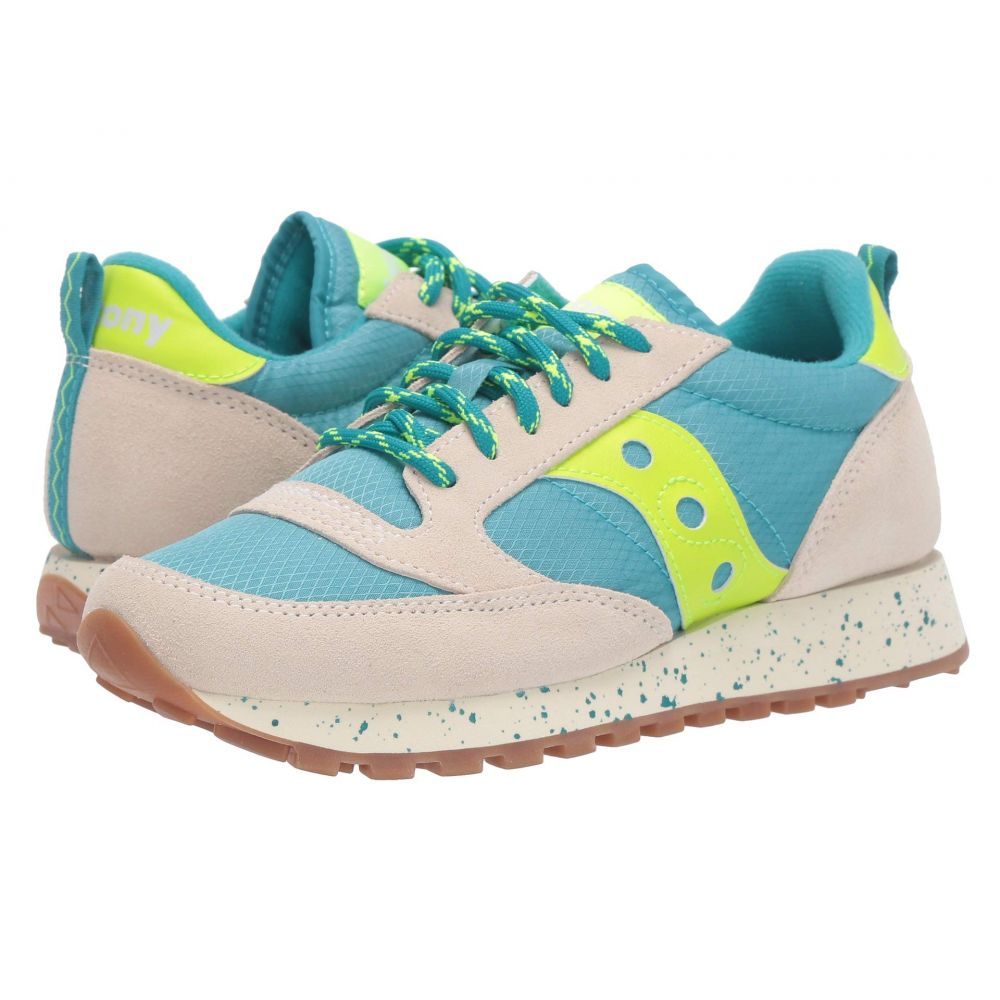 サッカニー Saucony Originals レディース スニーカー シューズ・靴【Jazz Original Climbing】Grey/Blue/Slime