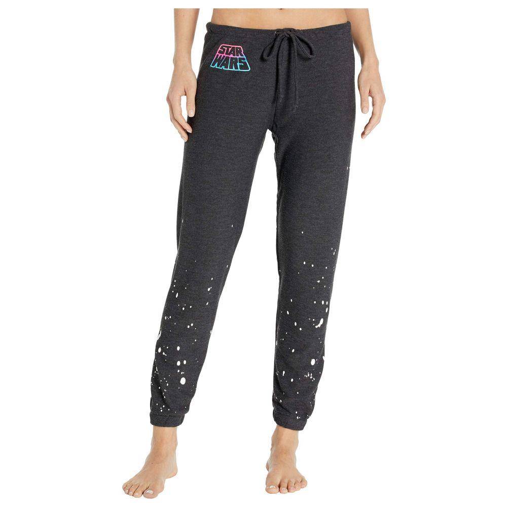 チェイサー Chaser レディース ボトムス・パンツ 【Neon Star Wars Cozy Knit Lounge Pants】Black