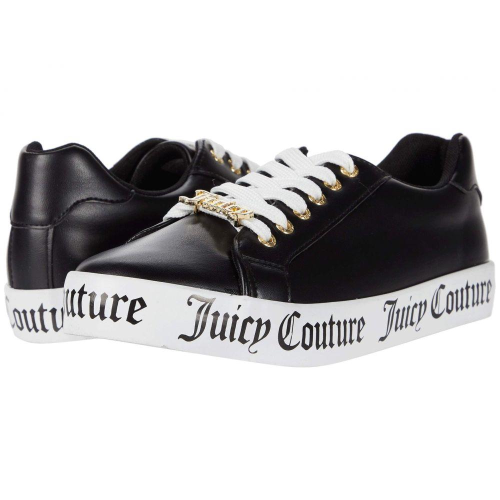 ジューシークチュール Juicy Couture レディース スニーカー シューズ・靴【Chatter】Black Smooth