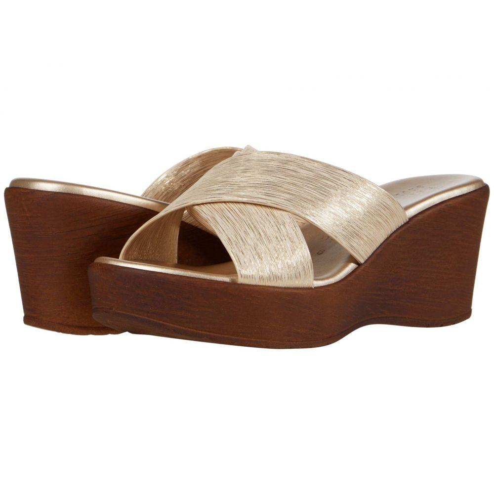 イタリアンシューメーカー Italian Shoemakers レディース サンダル・ミュール シューズ・靴【Fianna】Platinum