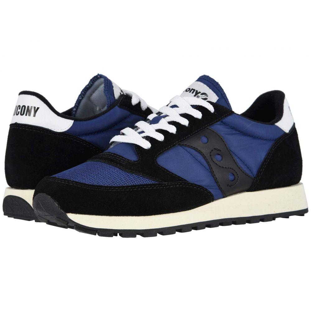 サッカニー Saucony Originals メンズ スニーカー シューズ・靴【Jazz Original Vintage】Black/Navy