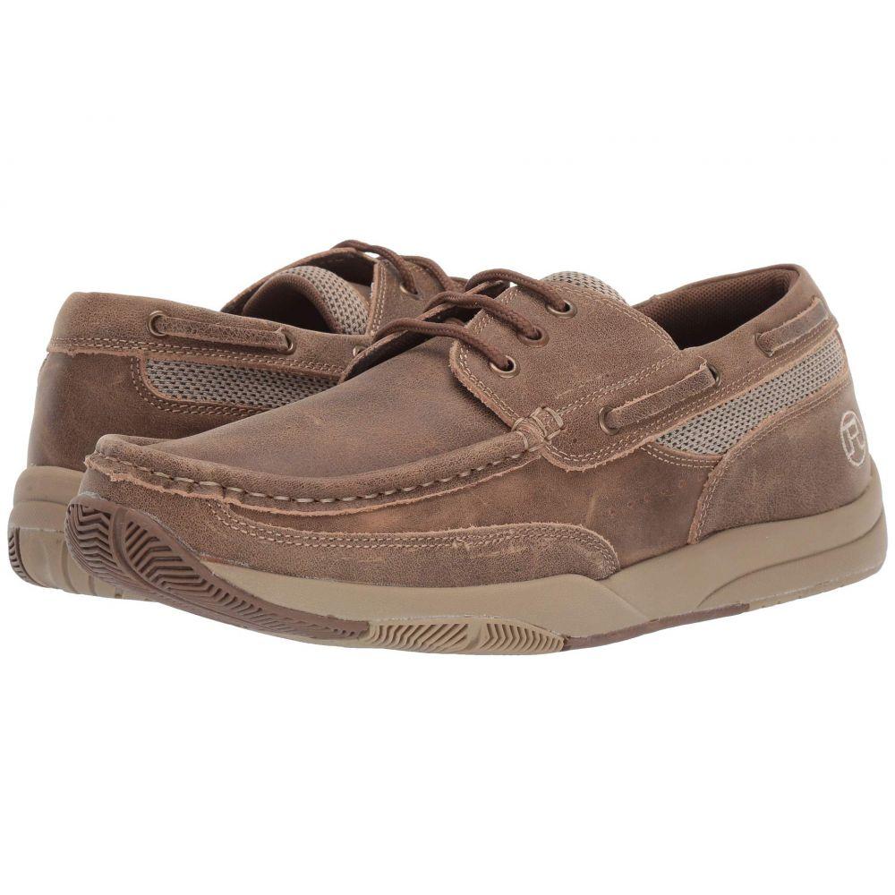 ローパー Roper メンズ デッキシューズ シューズ・靴【Clearcut Low】Vintage Tan Leather