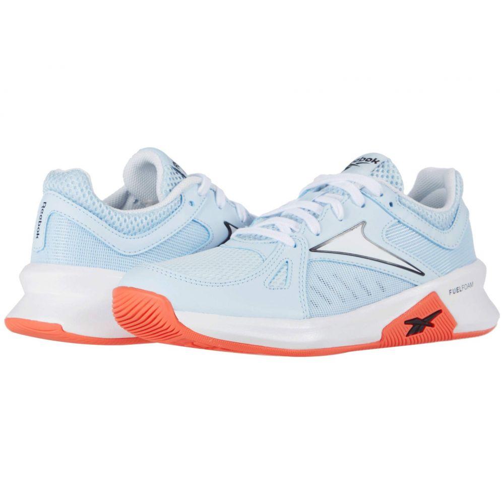 リーボック Reebok レディース スニーカー シューズ・靴【Advanced Trainette】Glass Blue/White/Vivid Orange