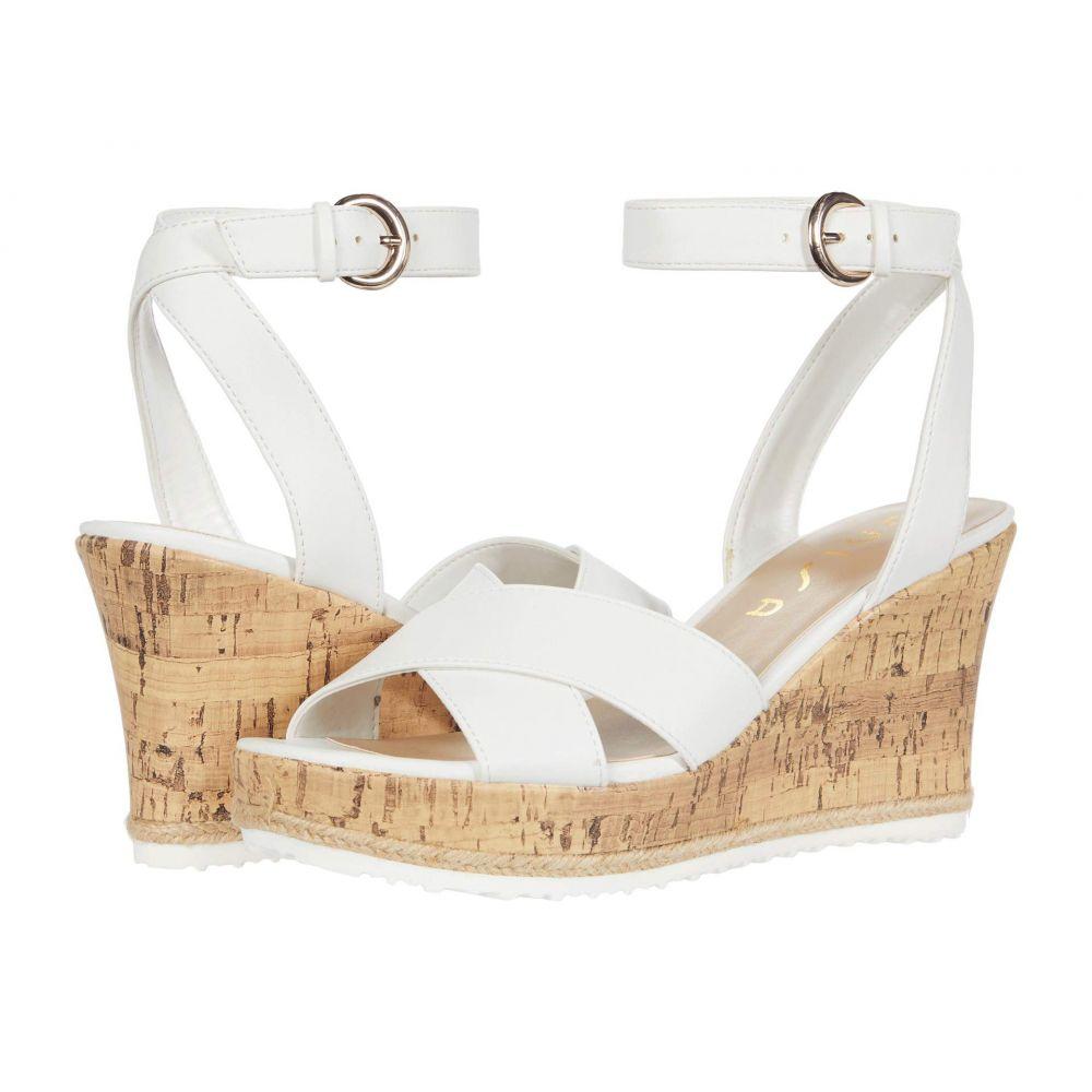 ユニサ Unisa レディース サンダル・ミュール シューズ・靴【Dureen】White