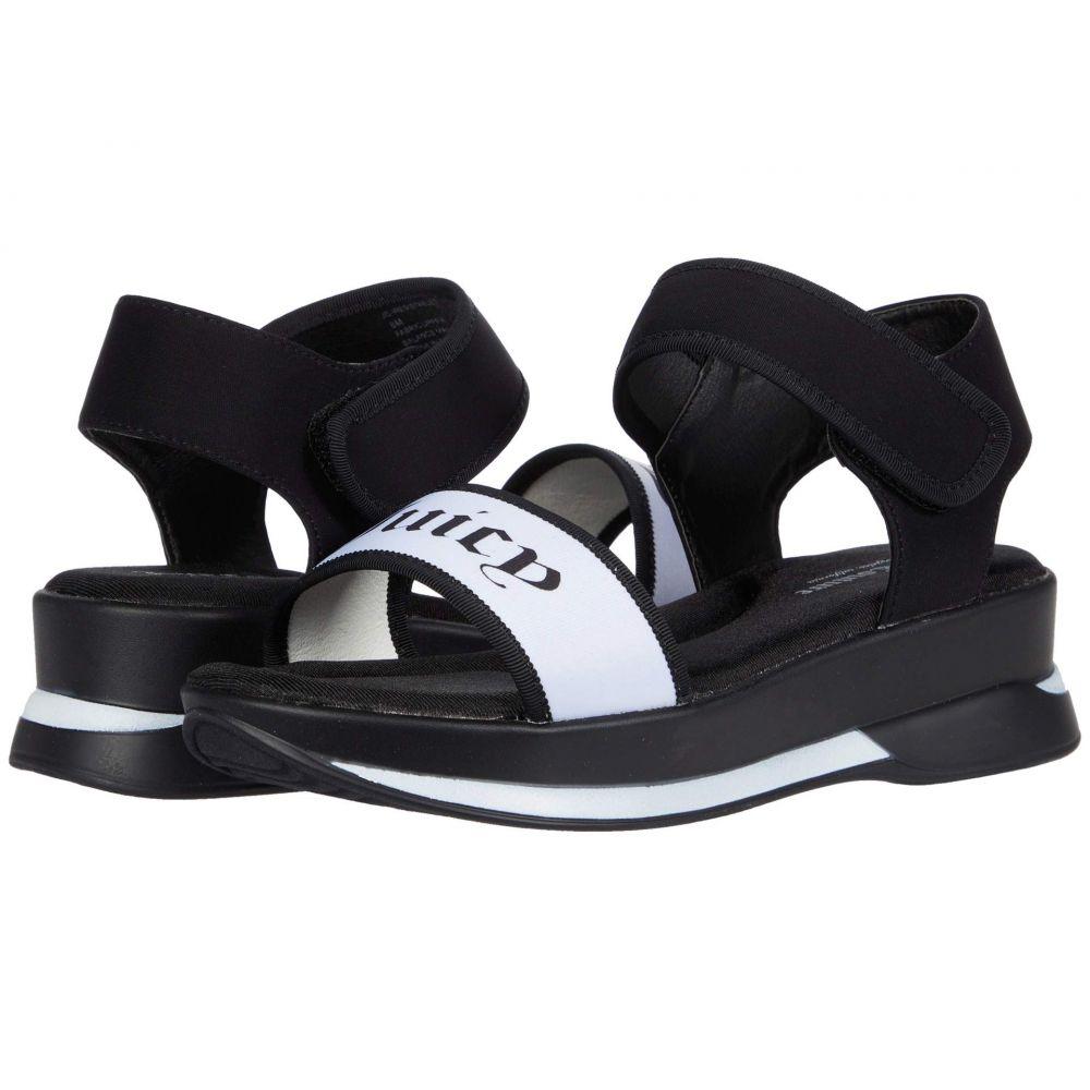 ジューシークチュール Juicy Couture レディース サンダル・ミュール シューズ・靴【Iresistable】Black/White Neoprene