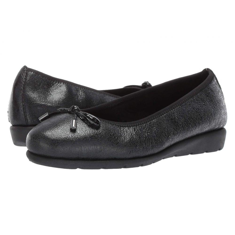 スプリングステップ Spring Step レディース スリッポン・フラット シューズ・靴【Ballerina】Black