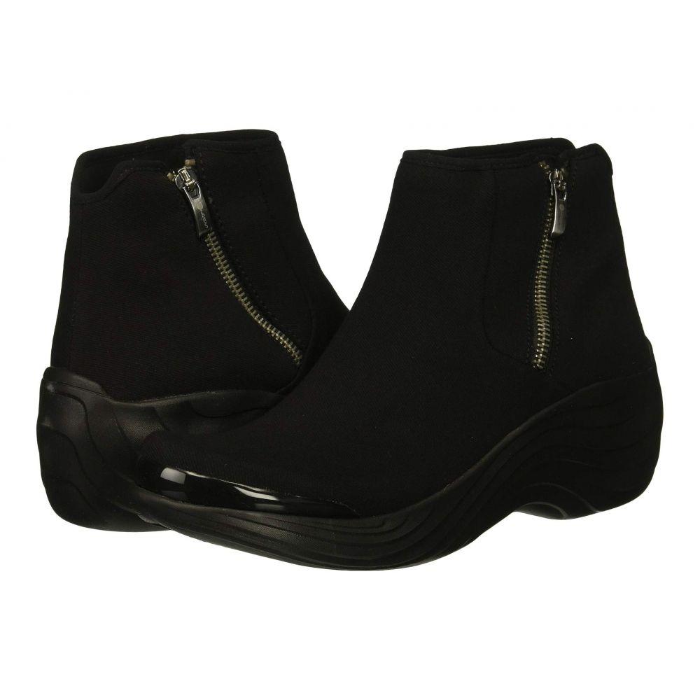 ゼィース Bzees レディース ブーツ シューズ・靴【Zora】Black Stretch Fabric