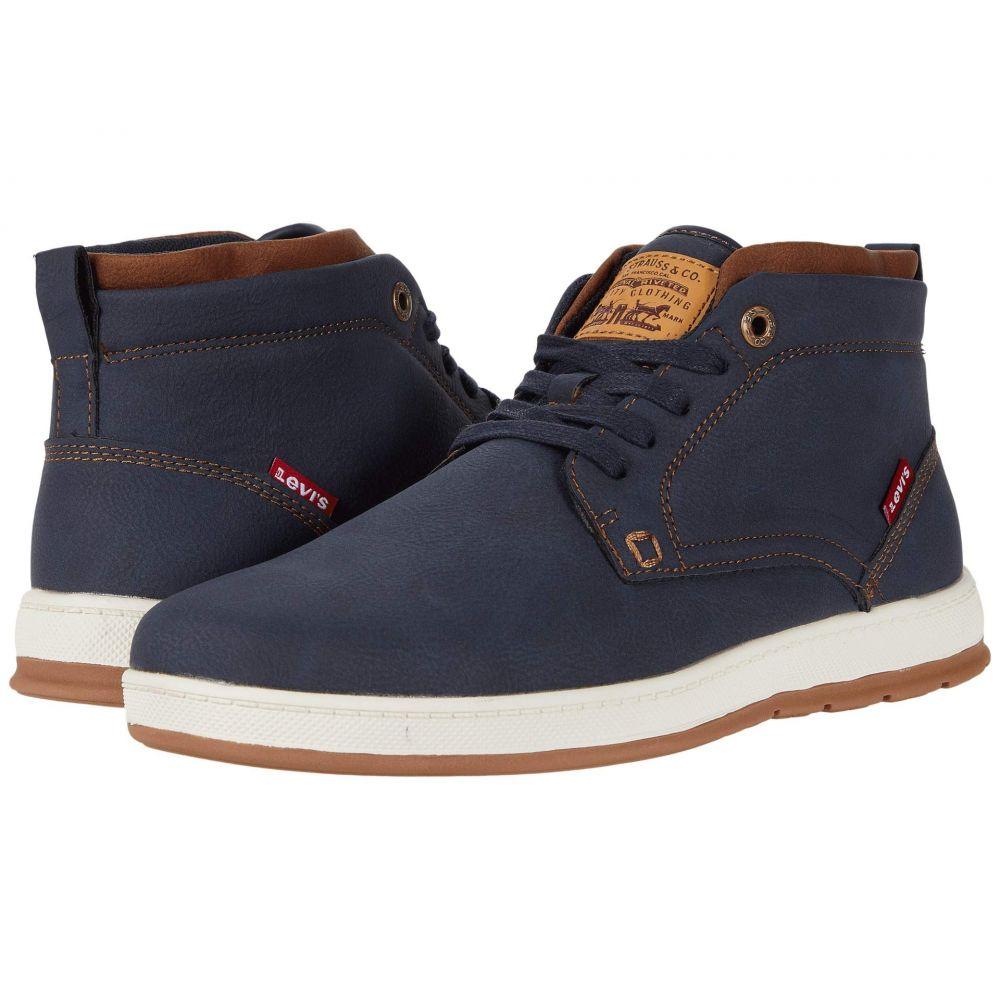 リーバイス Levi's Shoes メンズ スニーカー シューズ・靴【Goshen 2 Waxed UL NB】Navy/Tan