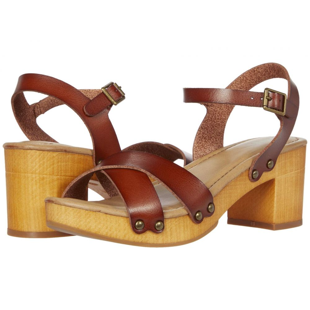 ミア MIA レディース サンダル・ミュール シューズ・靴【Shila】Cognac