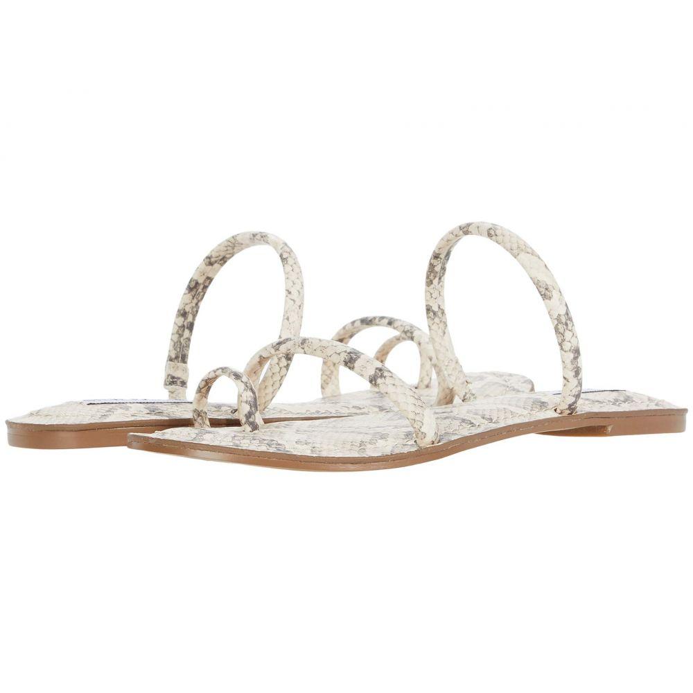 スティーブ マデン Steve Madden レディース サンダル・ミュール フラット シューズ・靴【Electrify Flat Sandal】Bone Multi