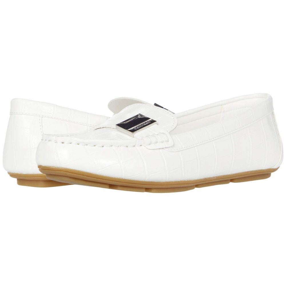 カルバンクライン Calvin Klein レディース ローファー・オックスフォード シューズ・靴【Lisa】White