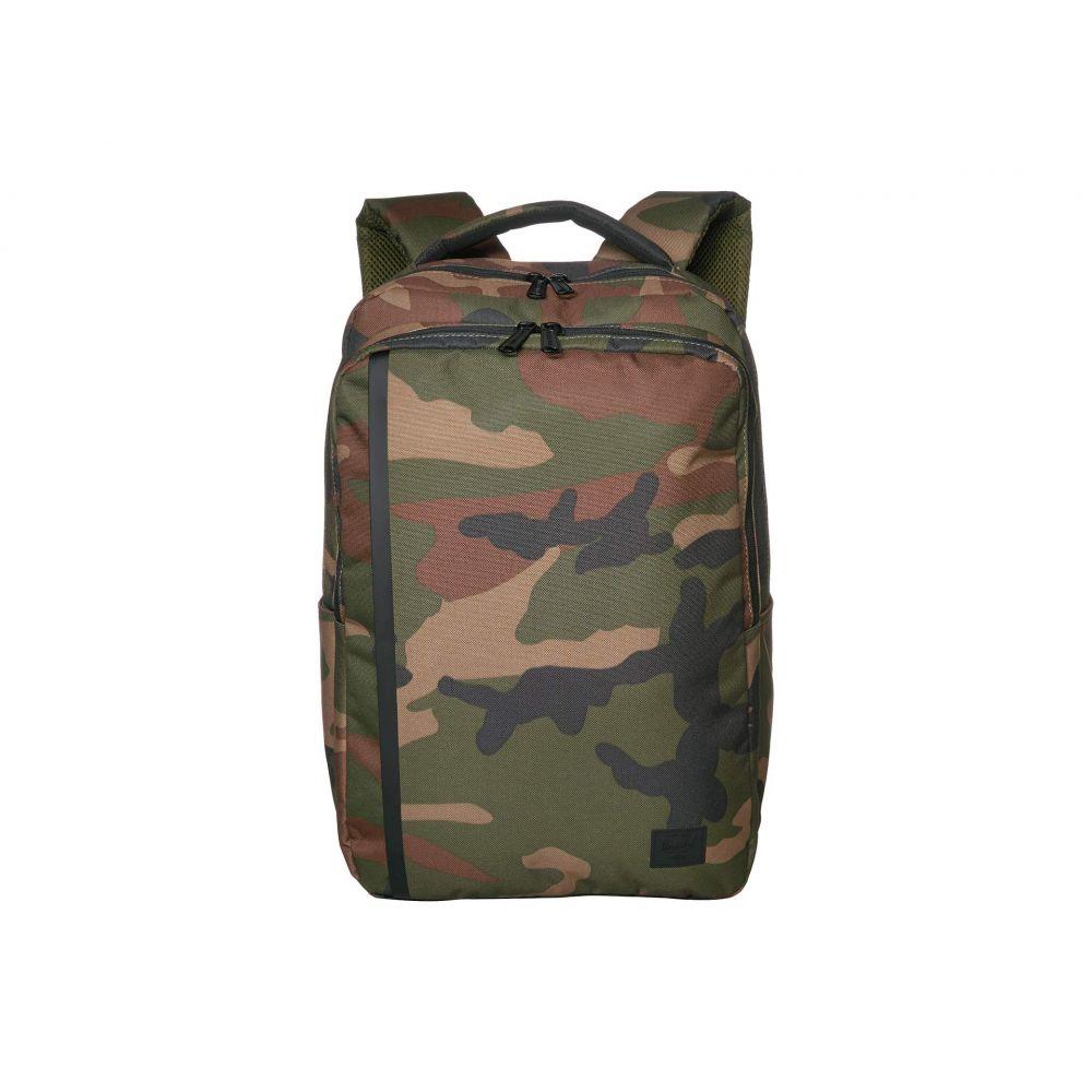 ハーシェル サプライ Herschel Supply Co. ユニセックス バックパック・リュック デイパック バッグ【Travel Daypack】Woodland Camo