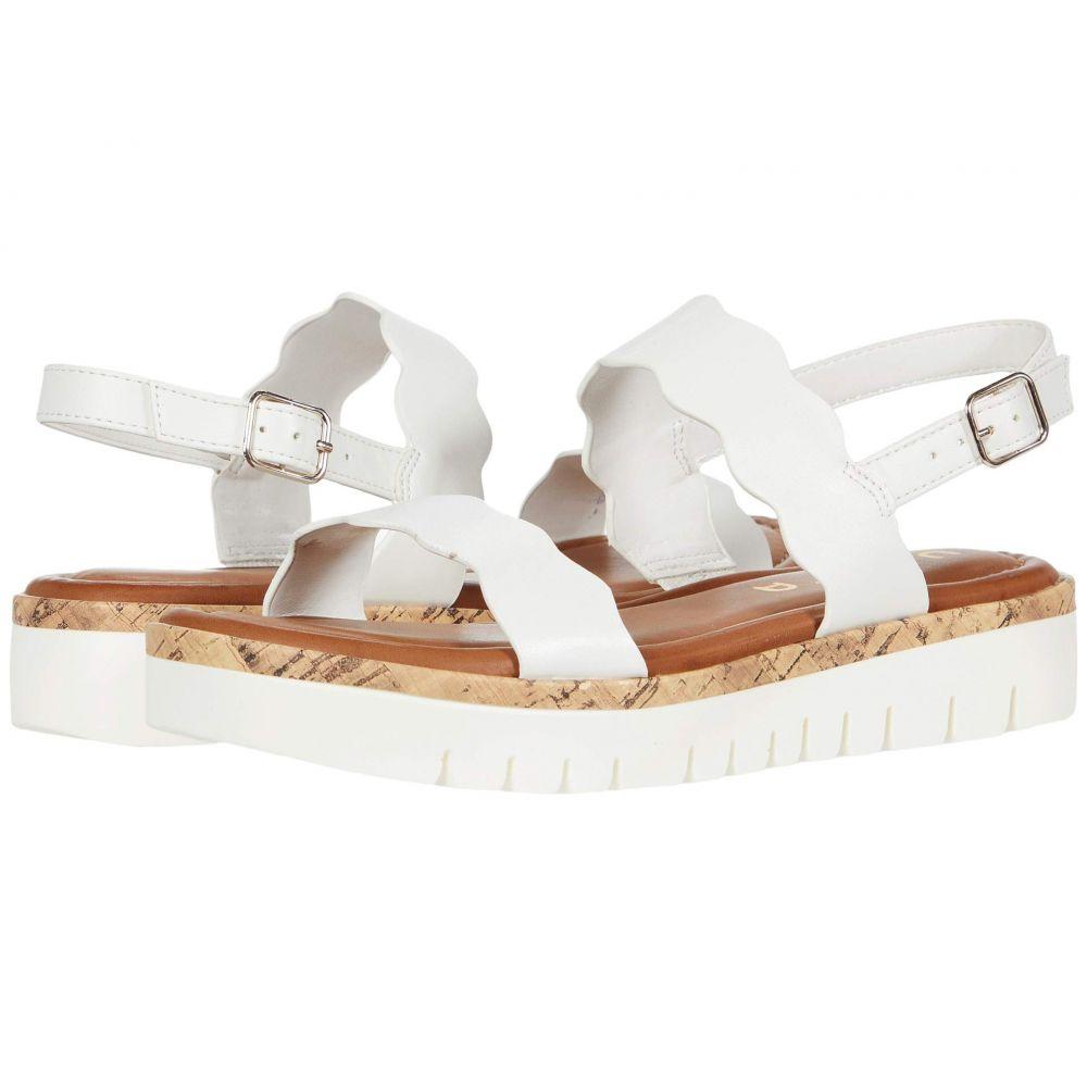 ユニサ Unisa レディース サンダル・ミュール シューズ・靴【Brolio】White