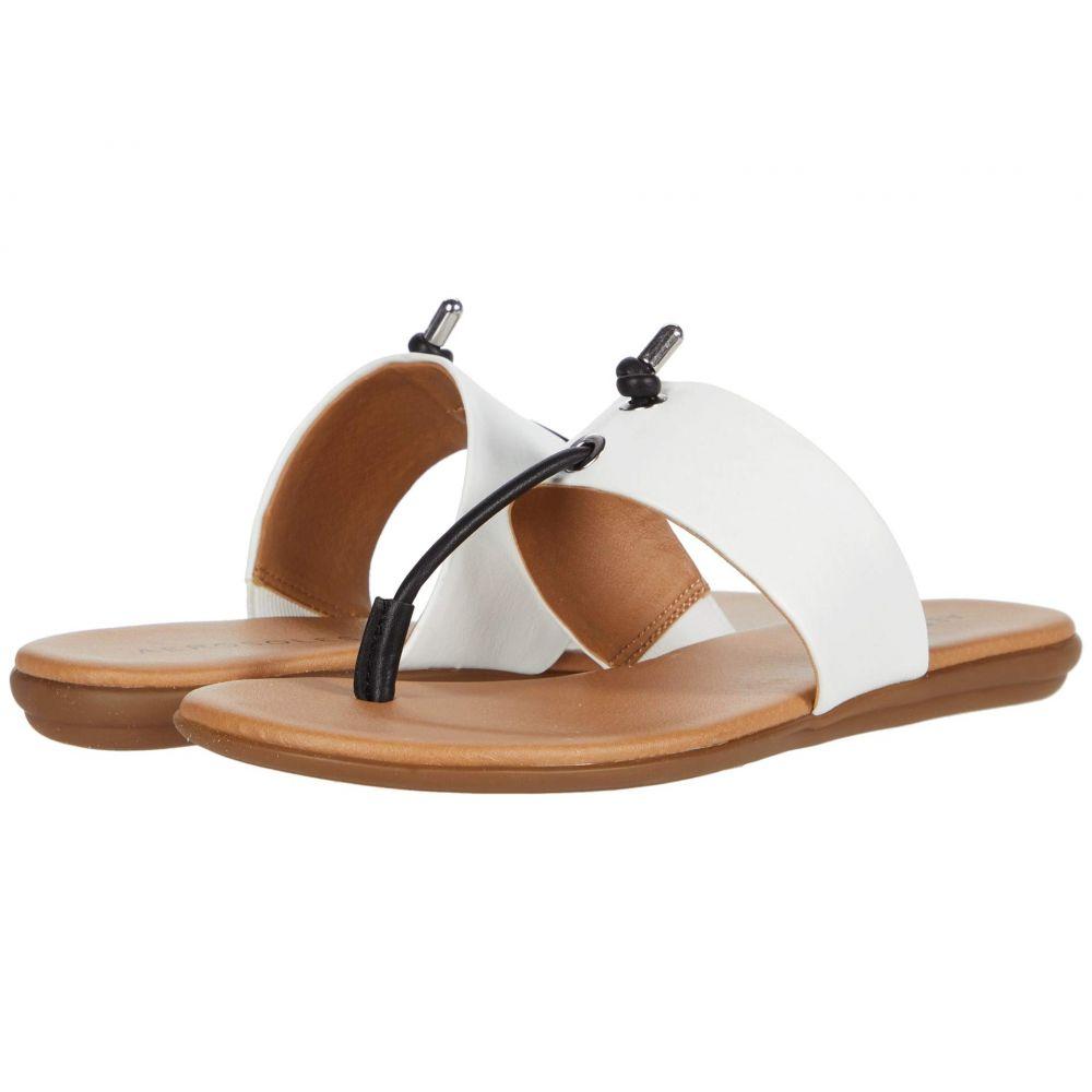 エアロソールズ Aerosoles レディース ビーチサンダル シューズ・靴【Crown Point】Black/White Combo