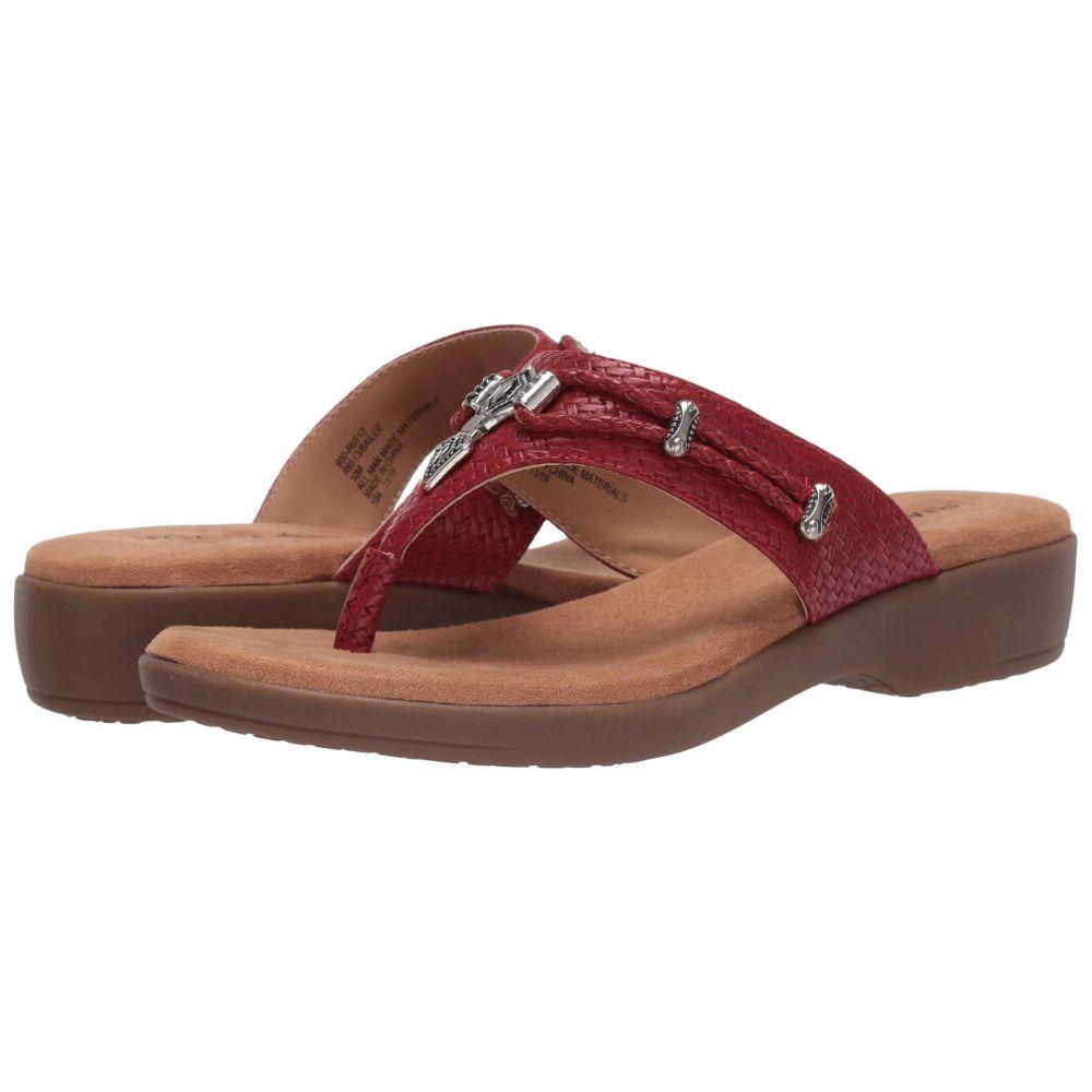 リアルト Rialto レディース ビーチサンダル シューズ・靴【Bailee】Red Woven