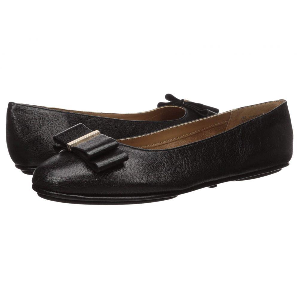 エアロソールズ Aerosoles レディース スリッポン・フラット シューズ・靴【Conversation】Black Leather