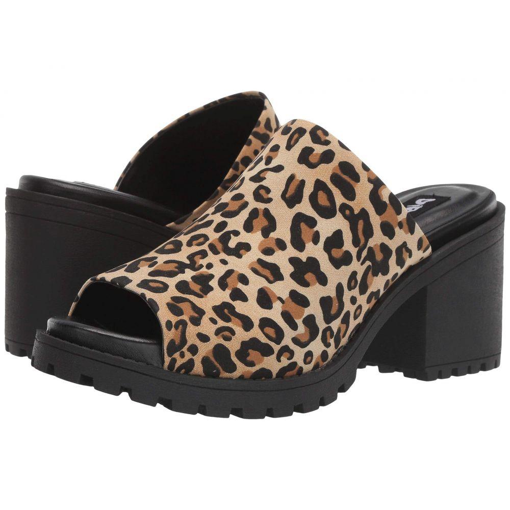 ダーティーランドリー Dirty Laundry レディース サンダル・ミュール シューズ・靴【Fair Play】Tan Disco Leopard