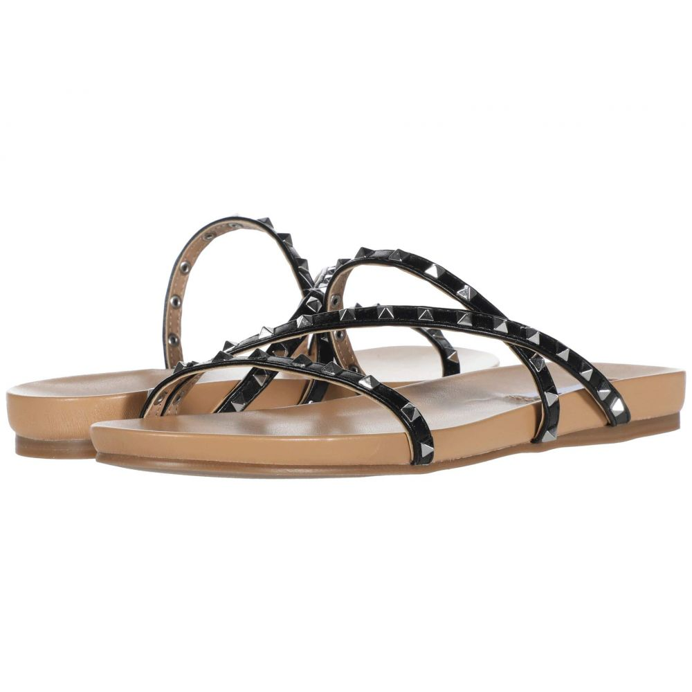 スティーブ マデン Steve Madden レディース サンダル・ミュール フラット シューズ・靴【Capsize Flat Sandal】Black