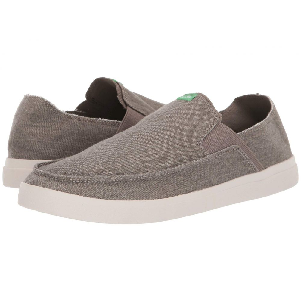 サヌーク Sanuk メンズ スリッポン・フラット スニーカー シューズ・靴【Pick Pocket Slip-On Sneaker】Brindle/Natural
