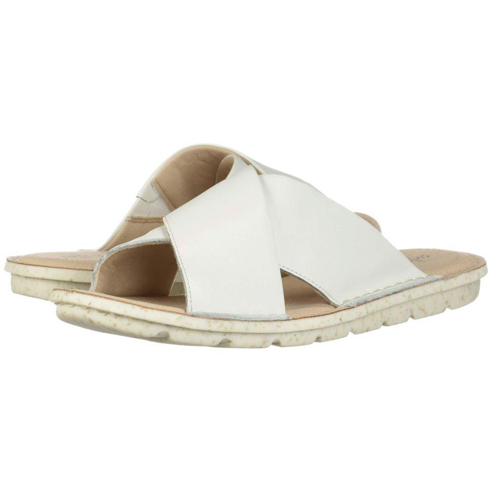 クラークス Clarks レディース サンダル・ミュール シューズ・靴【Blake Sydney】White Leather