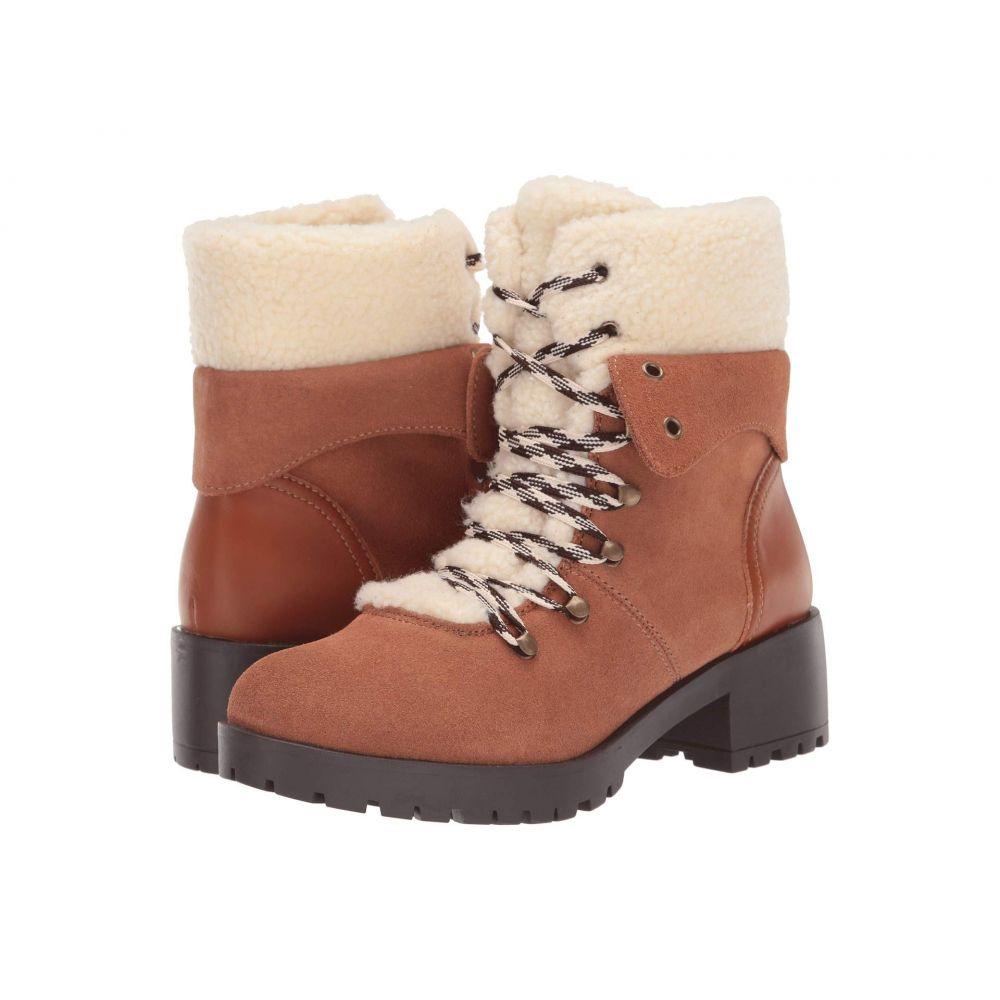 スケッチャーズ SKECHERS レディース ブーツ シューズ・靴【Mid Sherpa Tongue Hiker Boots】Chestnut