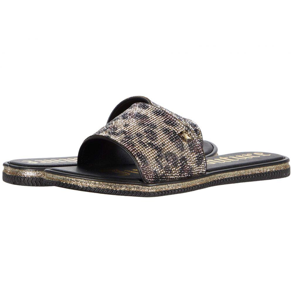 ジューシークチュール Juicy Couture レディース サンダル・ミュール シューズ・靴【Yippy】Leopard Beads