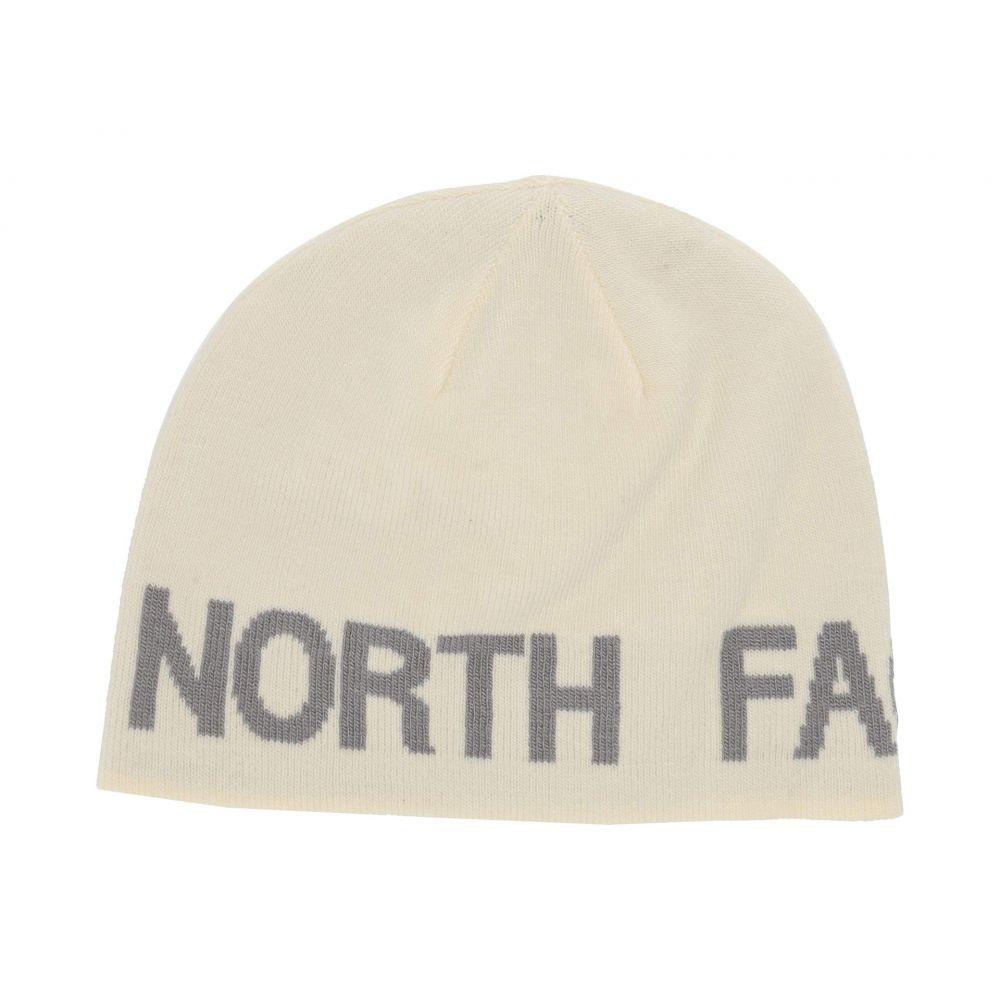 ザ ノースフェイス The North Face ユニセックス ニット ビーニー 帽子 Reversible TNF Banner Beanie Vintage White Mid GreyKlFJcT1
