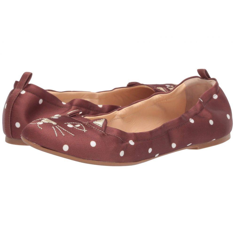 シャーロット オリンピア Charlotte Olympia レディース スリッポン・フラット シューズ・靴【Kitty Ballerina】Brown