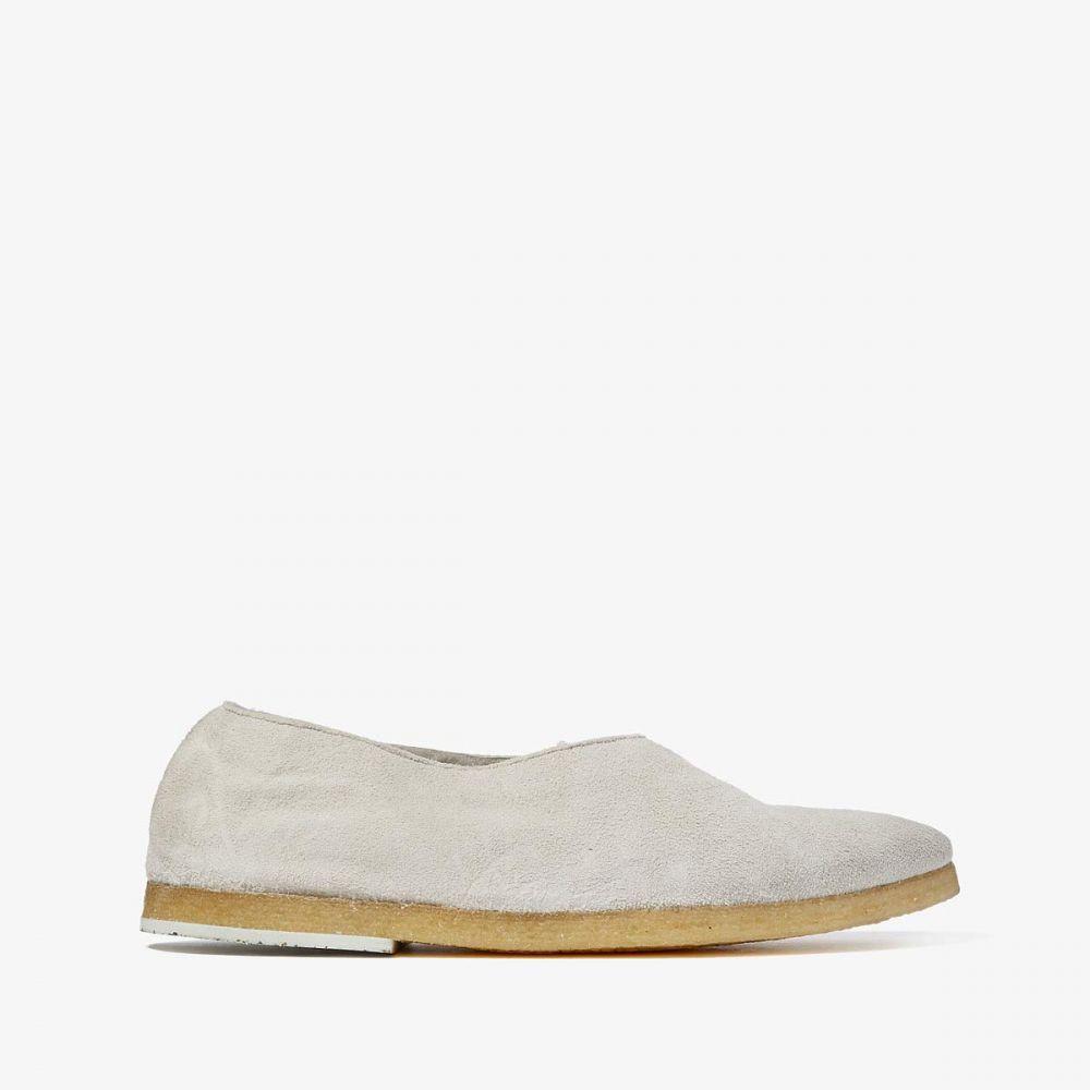 マルセル Marsell レディース スリッポン・フラット シアリング シューズ・靴【Shearling Lined Ballerina】Off-White/Natural