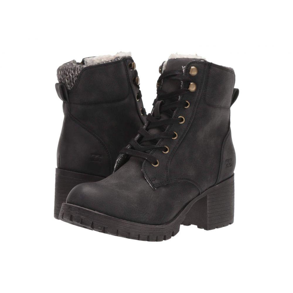 ビラボン Billabong レディース ブーツ シューズ・靴【Wild Thing】Black