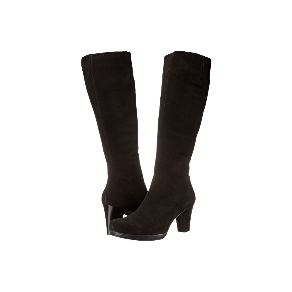 ラ カナディアン La Canadienne レディース ブーツ シューズ・靴【Kara】Black Suede