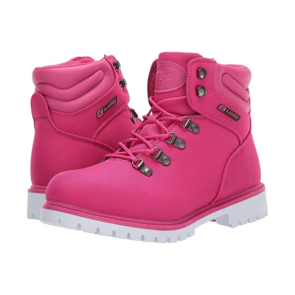 ラグズ Lugz レディース ブーツ シューズ・靴【Grotto II】Deep Pink/White