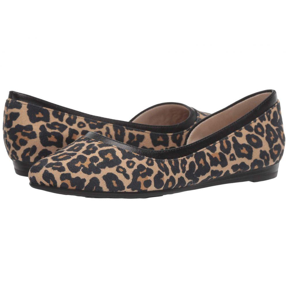 ライフストライド LifeStride レディース スリッポン・フラット シューズ・靴【Quincy】Leopard