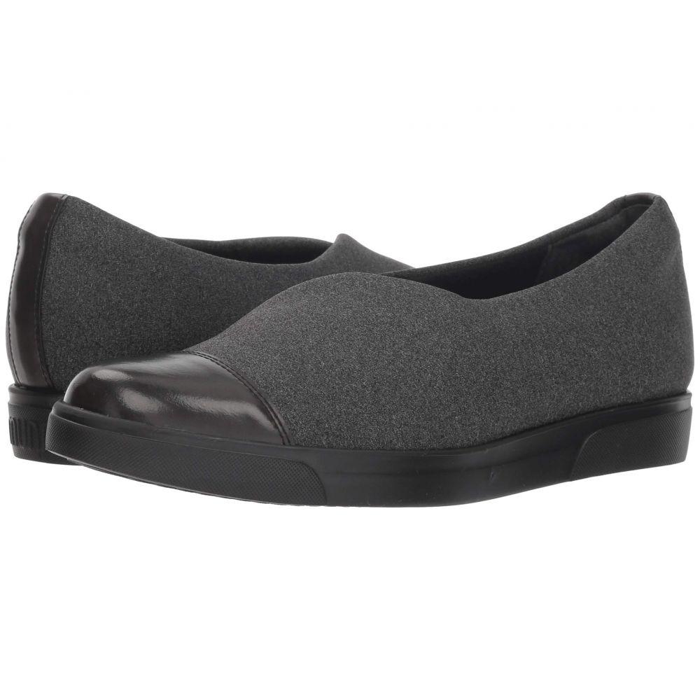 マンロー Munro レディース ローファー・オックスフォード シューズ・靴【Plum】Grey Stretch Fabric