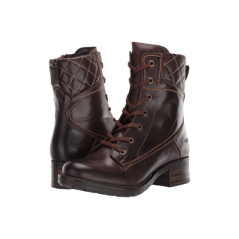 タオス Taos Footwear レディース ブーツ シューズ・靴【Factor】Chocolate