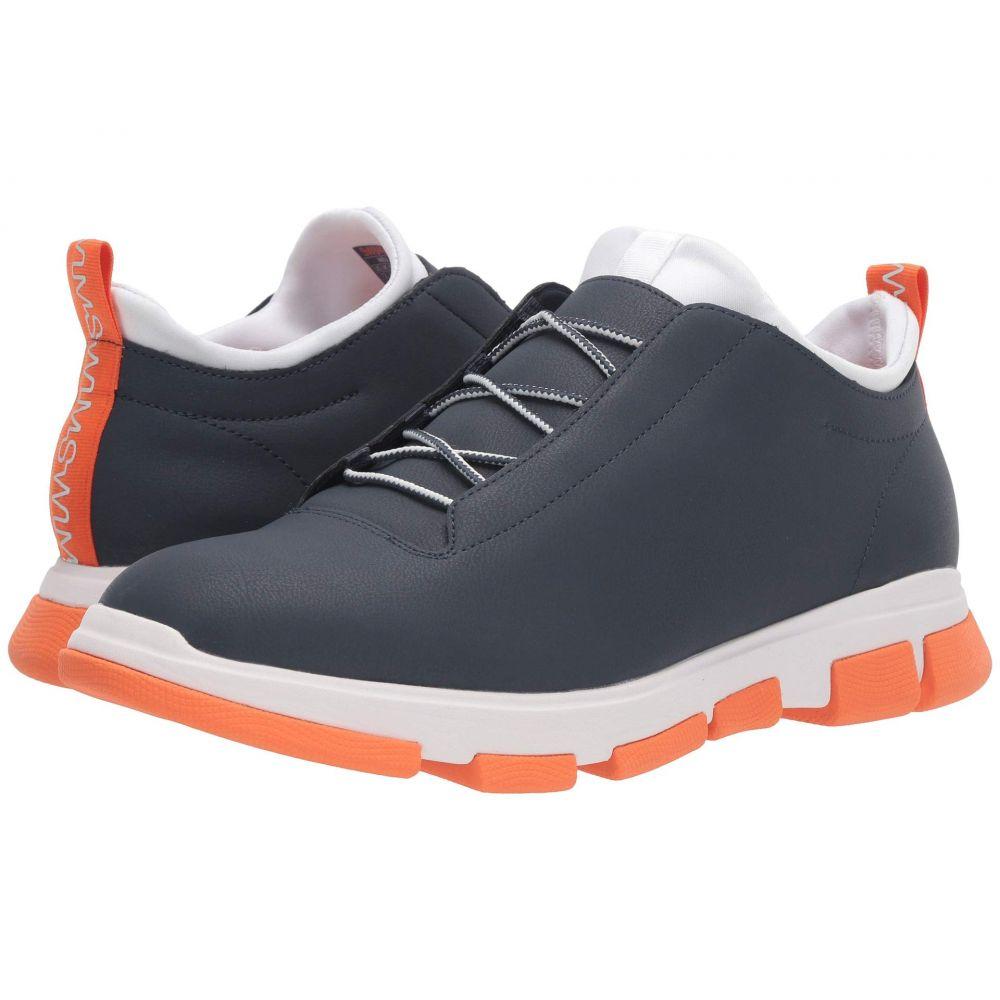 スウィムス SWIMS メンズ スニーカー シューズ・靴【City Hiker Low】Navy/White/Orange
