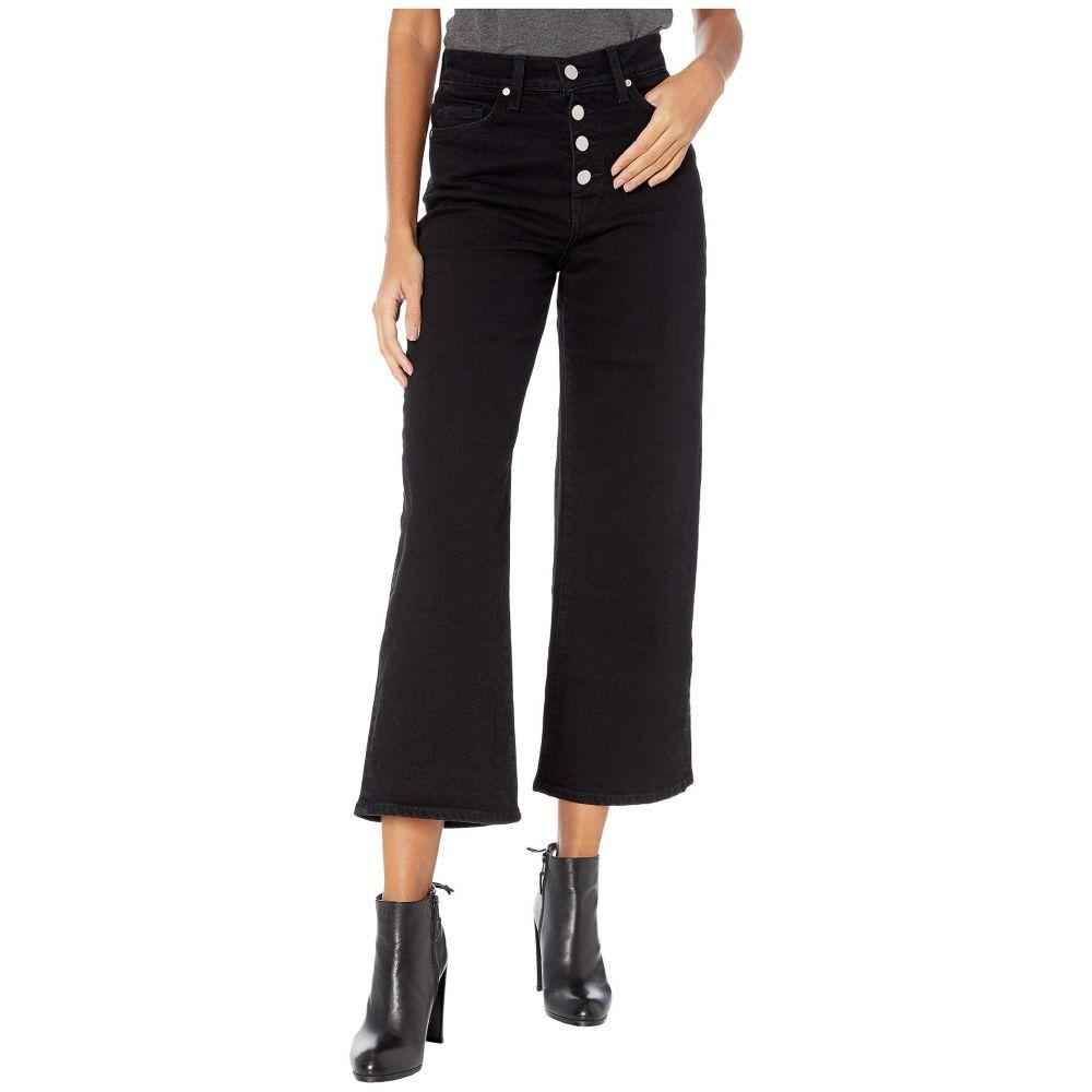 ボールドウィン BLDWN レディース クロップド ワイドパンツ ボトムス・パンツ【Cropped Wide Leg X】Carbon Black