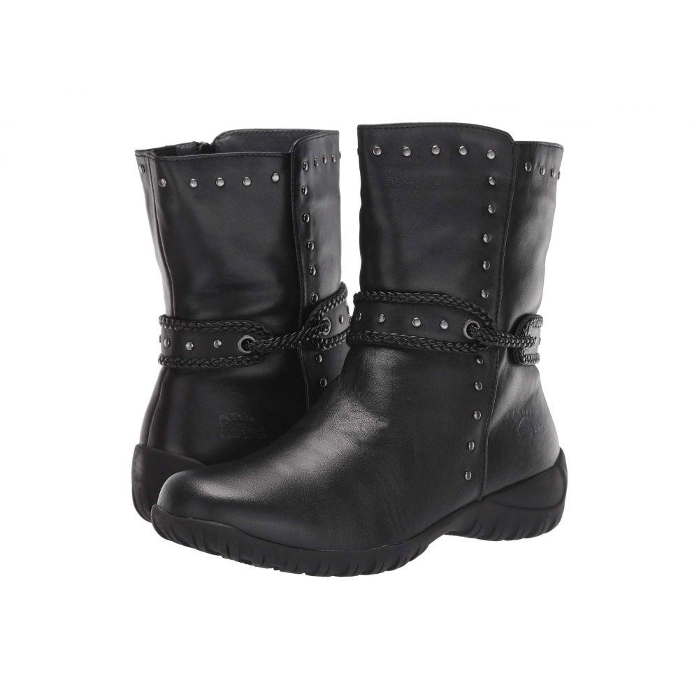 スプリングステップ Spring Step レディース ブーツ シューズ・靴【Vermont】Black
