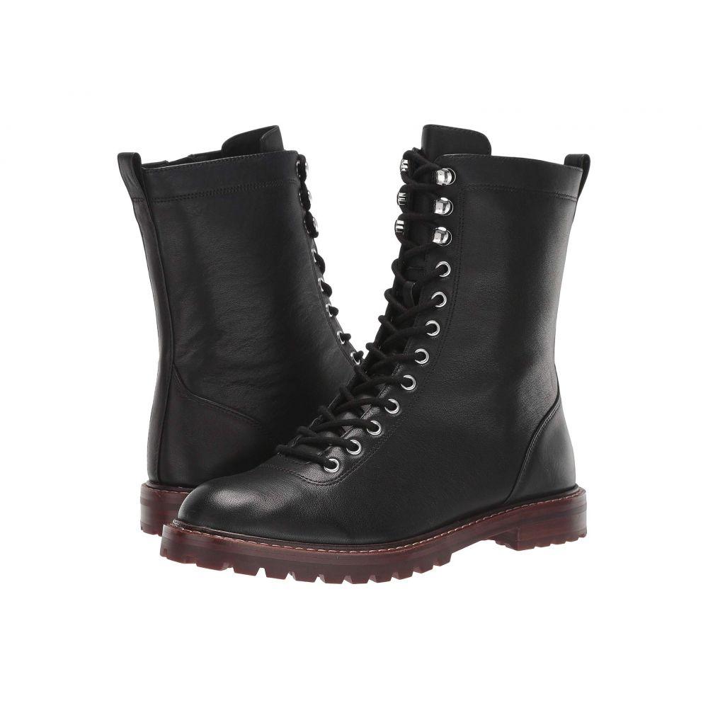 ジェイクルー J.Crew レディース ブーツ レースアップ シューズ・靴【Leather Lace-Up Micah Boot】Black